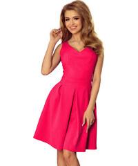 LAFIRA Dámské růžové letní šaty 160-6 297a969792e