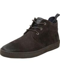 47f891db57 REPLAY Športové šnurovacie topánky Hnedé