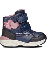 a455b4cdff7 GEOX Dětské podzimní jarní boty GEOX B741HF Pink - Glami.cz
