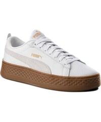 Sneakersy PUMA - Smash Platform L 366487 02 Puma White Puma White 0877be3e2d