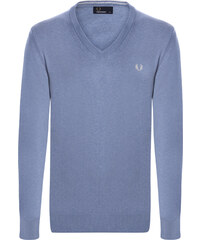 b0bd603c33 Modrý regular fit svetr Fred Perry