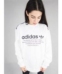 Mikina adidas Originals Crew Unisex Bílá 58cfebad828