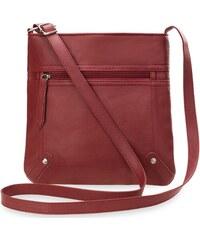 c83a209f72 World-Style.cz Dámská praktická kabelka listonoška pro každodenní použití  červená