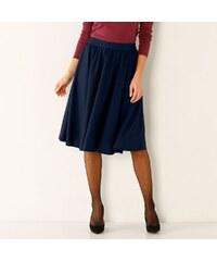 0d0a09434ee1 Blancheporte Vzdušná jednofarebná sukňa nám.modrá 48