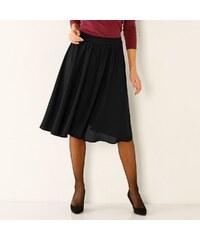 5ddd225e358e Blancheporte Vzdušná jednofarebná sukňa čierna 44