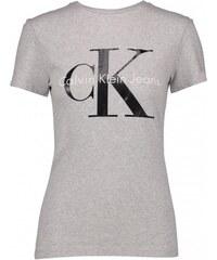 Dámské triko Calvin Klein Short Šedé 55a1bd08dd