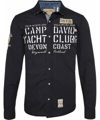 Pánská košile s dlouhým rukávem CAMP DAVID 964a66d2c8