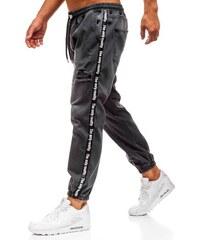 Antracitové pánské džínové baggy kalhoty Bolf 2045 18a3e8b8f8