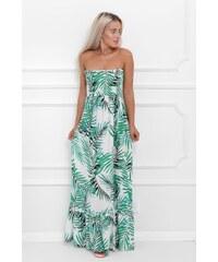 Letní šaty bez ramínek  bf2099f16f