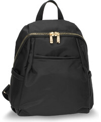 292c041326a L S Fashion Batoh Black Backpack Rucksack School Bag AG00614 BLACK