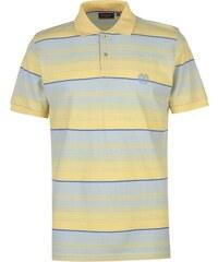 b4cfc59ffa Pierre Cardin Stripe Polo Shirt pánské Lemon