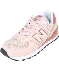 New Balance Běžecká obuv  WL574  růžová   tmavě růžová   černá   bílá c41cdbd3a8