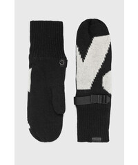 Černé dámské rukavice - Glami.cz 75547fd009