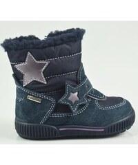 Primigi Dívčí zimní boty s hvězdičkou - modré 9d43b07cc5
