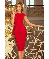 79fb5ba20bd9 Dámske šaty Numoco 192-5 červené