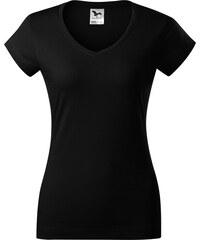 6571258d192e ADLER FIT V-NECK Dámske tričko 16201 čierna XS
