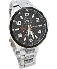 4c3f7f0f6ce Pánské hodinky Curren Capricie černo-stříbrné 326P