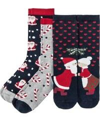 bonprix Vánoční ponožky (3 ks v balení) 9c5ef0abe4