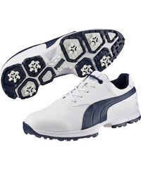 40a5dd79745 Puma Golf Ace pánské golfové boty bílo tmavěmodré