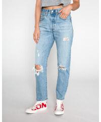 Dámské potrhané džíny  bd191c45cc