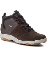 Kotníková obuv GEOX - U Nebula 4X4ABX A U742VA 023EK C6T6M Dk Coffee Coffee b2b3f9b896