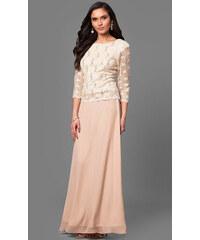 1aec0e10b659 Glamor Šaty pro plnoštíhlé na svatbu