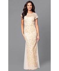 Glamor Luxusné šaty na svadbu pre matku nevesty fd1ca875f1c