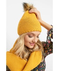 Žluté dámské pokrývky hlavy - Glami.cz 249a60dc18