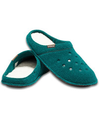 Crocs unisex domácí pantofle Classic Slipper Everegreen Stucco - M3 W5 46693638be