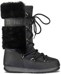 8ab467aaabd Dámské zimní boty Moon Boot Monaco Hi Fur Black