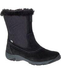 f1808f60c58 Dámské zimní boty ALPINE PRO DARLEEN LBTK145 ČERNÁ - Glami.cz