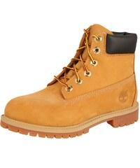 TIMBERLAND Kozačky  6-Inch Premium Boot Junior 9497R  hnědá cb0b62beb15