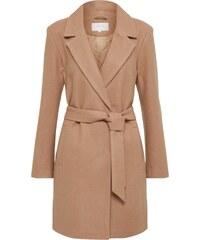 VILA Přechodný kabát  VILUS  velbloudí 04657f68e3