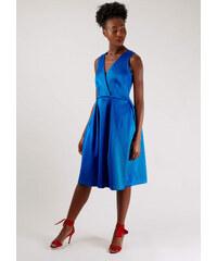 Kobaltově modré šaty s širokou sukní Closet Johanna 601419f8d6