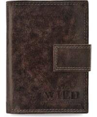 Pánská peněženka always wild se svislou svorkou – hnědá 116b14378c9