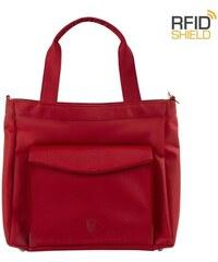 f1fa211fe0 Blaire Kožená taška na notebook Esme hnědá. Detail produktu · Heys HiLite  RFID Laptop Tablet Tote Red