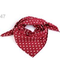 Stoklasa Bavlněný šátek 65x65 cm s puntíky ff2dadcb06