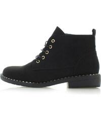 46335a17bd9 Sergio Todzi Černé kotníkové boty Lavena