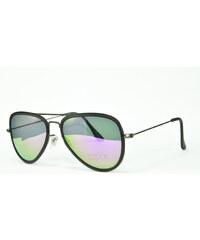 Hipsters Slnečné okuliare Aviator Pilot XS Purple ebe44b539c3
