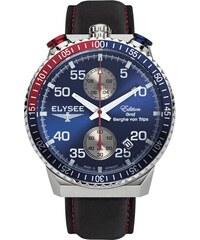 Tmavě modré pánské hodinky  b03d7ab116