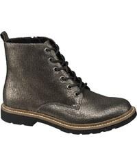 Zlaté Dámske čižmy a členkové topánky  60f4d4dec9e