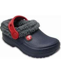 Crocs Chlapčenské zataplené sandále Kids  Classic Blitzen III Clog - tmavo  modré c4608cd670