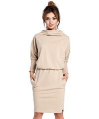 c6dee46991d6 BE wear Béžové šaty B032