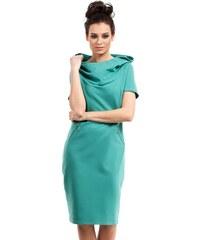 7eefe6306b83 BE wear Zelené šaty B028