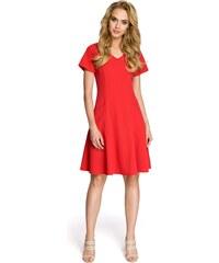 a074d92ff52f Červené šaty Moe 233