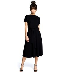 5b2b27dd8ca8 BE wear Čierne šaty B067