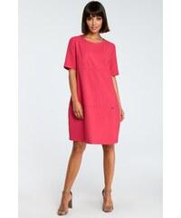 cce2922f2f30 BE wear Ružové šaty B082