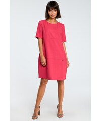 90f6f75869c8 BE wear Ružové šaty B082