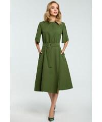 d2f1c42652d6 Zelené šaty Moe 396