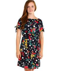 372e8511da21 Glara Dámske kvetované letné šaty